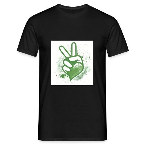 Mit Herz und Hand - Männer T-Shirt
