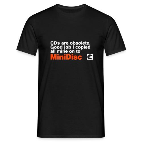 MINIDISC Obsolete - Men's T-Shirt