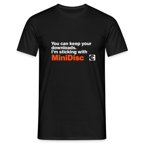 MINIDISC Downloads - Men's T-Shirt