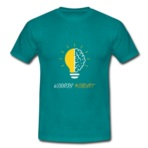 Winners Mindset - Ein Design für Gewinner - Männer T-Shirt