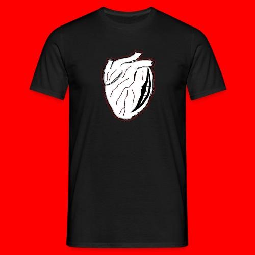 heart icon - T-shirt herr