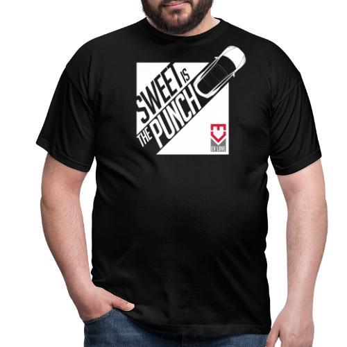 Sweet Is The Punch – White Tesla - Männer T-Shirt