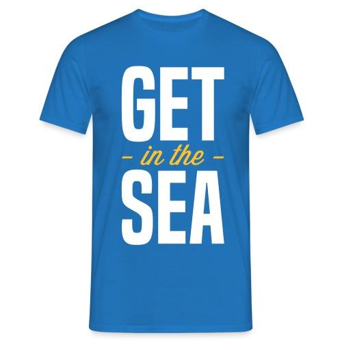 get in the sea 02 - Men's T-Shirt