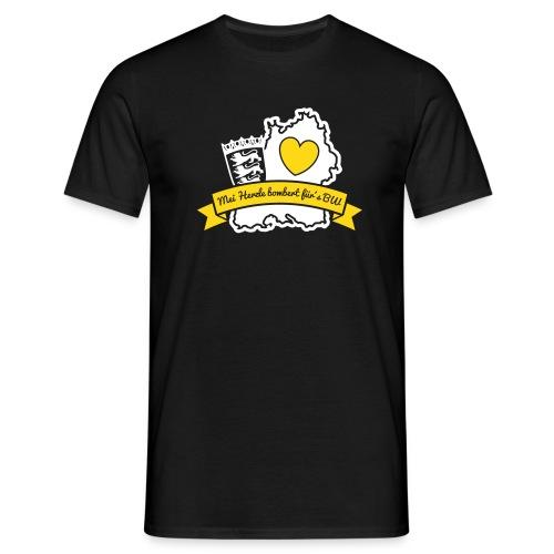 Herzle BW - Männer T-Shirt
