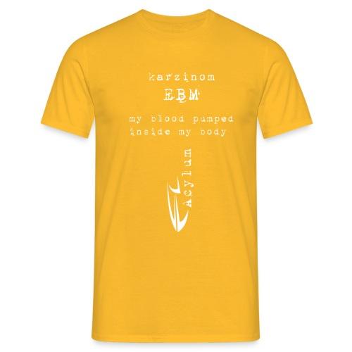 white karzinom pumped - Men's T-Shirt