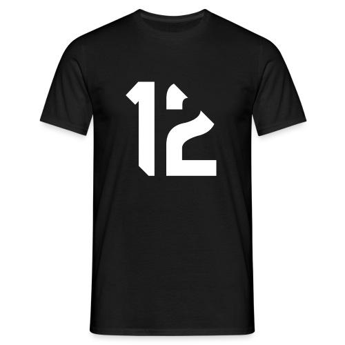 12 white - T-shirt Homme