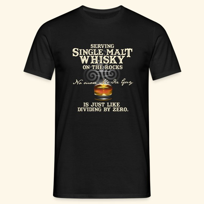 "Whisky T-Shirt ""Single Malt Whisky"""