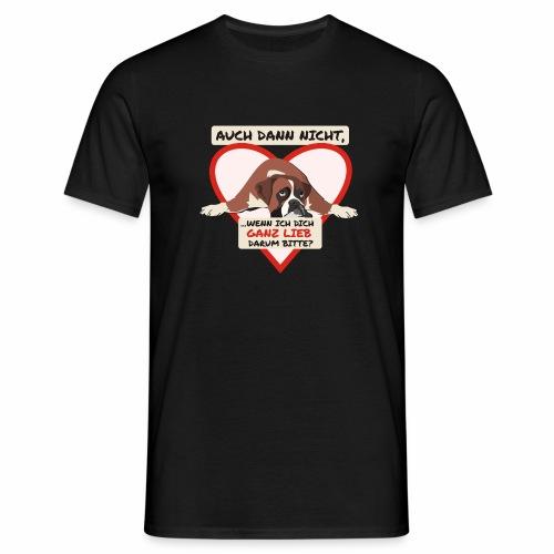 Hundeblick - Männer T-Shirt