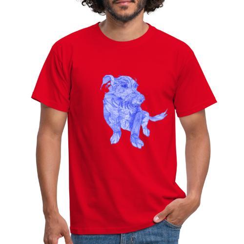 Das ist wohl ein chinesischer Drachen - Hund - Männer T-Shirt