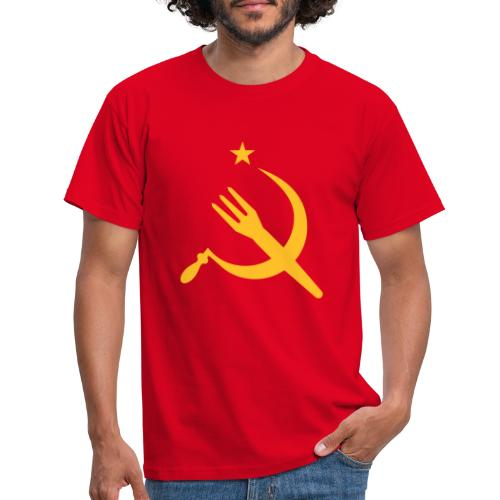 Fourchette en sikkel - USSR - belgië - belgique - T-shirt Homme