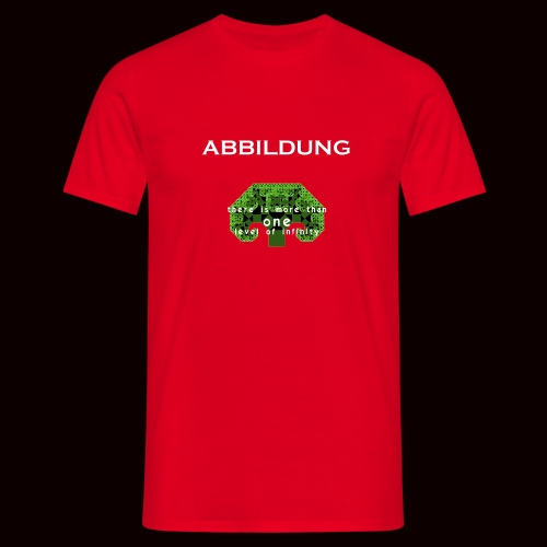 ABBILDUNG - There is more... - Mannen T-shirt