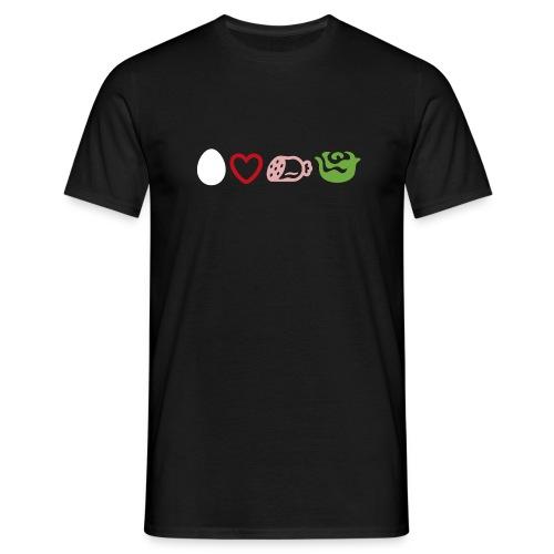 ei-laf-wurschdsalat - Männer T-Shirt