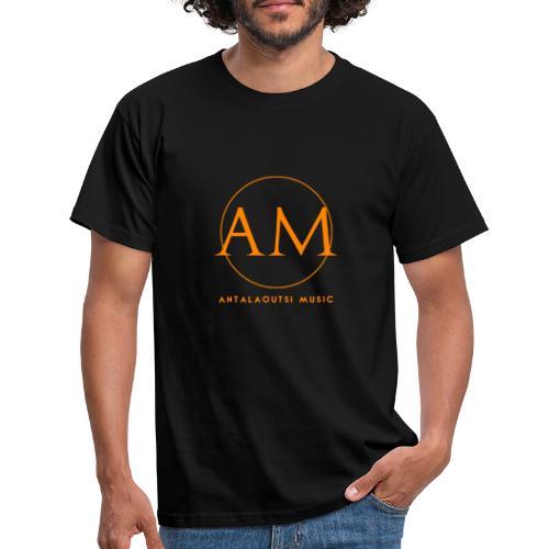 orange - T-shirt Homme