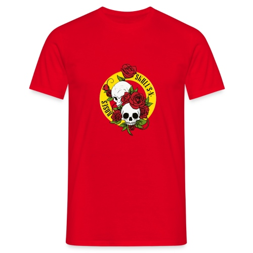 SKULL'S N ROSES - Camiseta hombre