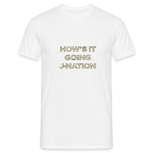 J nation - Men's T-Shirt