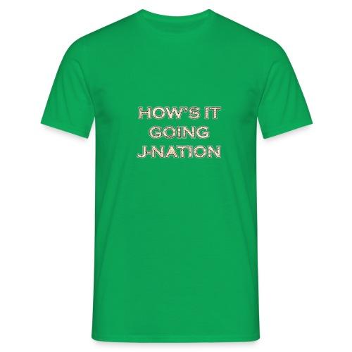 J nation - Men's T-Shirt
