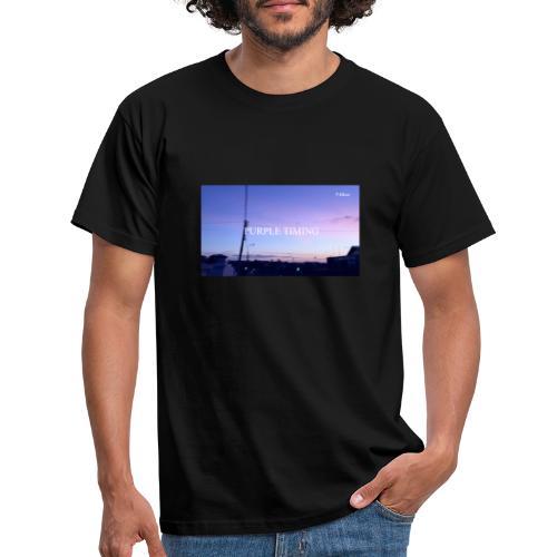 Purple Timing - Men's T-Shirt