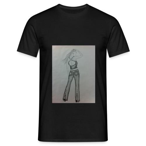 jeans girl - Männer T-Shirt