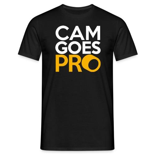 CamGoesPro Gold Shirt - Männer T-Shirt