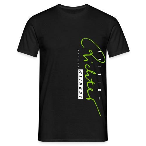 logo schwarzrot - Männer T-Shirt