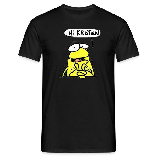 Wilmer die gelbe Kröte - Männer T-Shirt