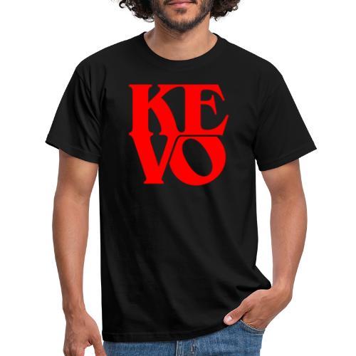 Kevo Red - Männer T-Shirt