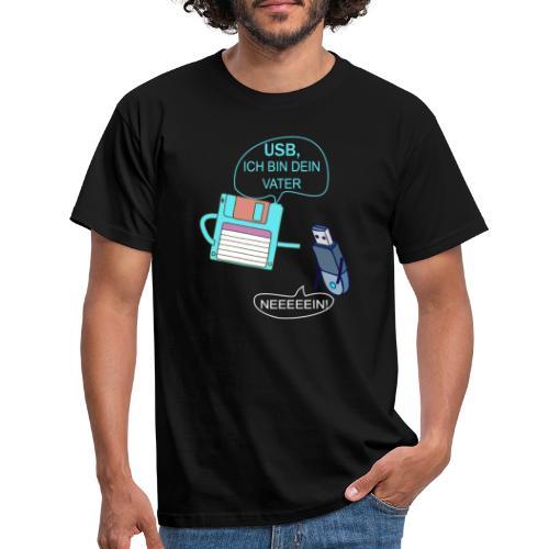 USB ich bin dein Vater xD - Männer T-Shirt