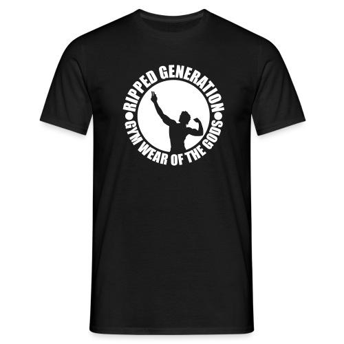 Ripped Generation Logo - Miesten t-paita