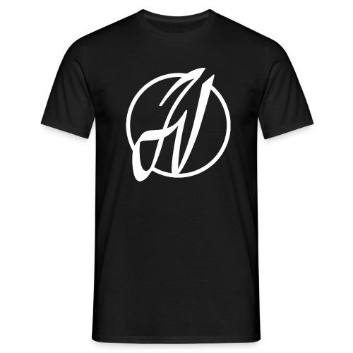 JV Guitars - logo blanc - T-shirt Homme