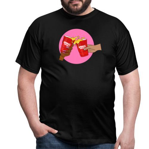 Pink/Red - Spring Break Portugal 2019 - Men's T-Shirt