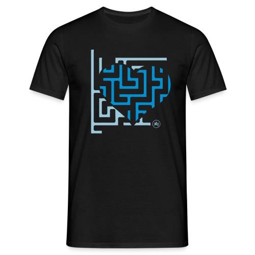 labirinto in amore - Maglietta da uomo