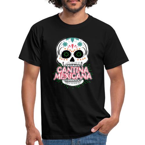 Totenkopf Weiß - Männer T-Shirt