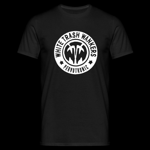 White Trash Wankers Pervotronic-Logo - Männer T-Shirt