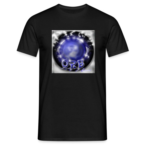 Hyperspace potato Blue Orb - Men's T-Shirt