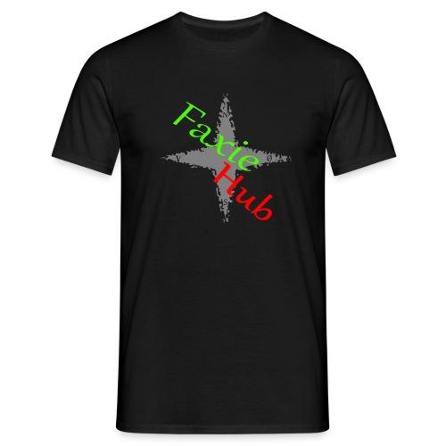FaxieHub - Herre-T-shirt
