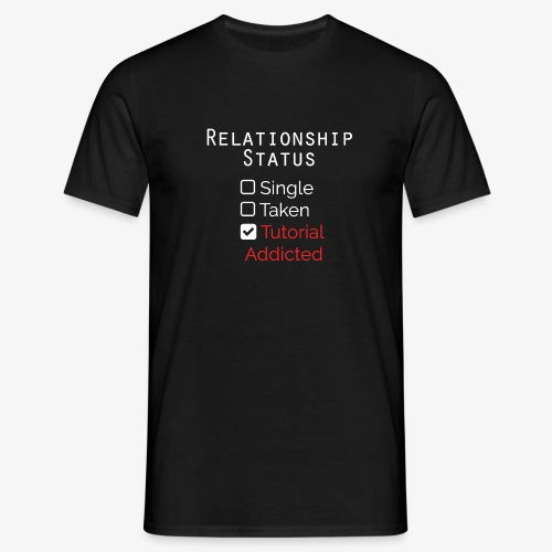 stato delle relazioni - Maglietta da uomo