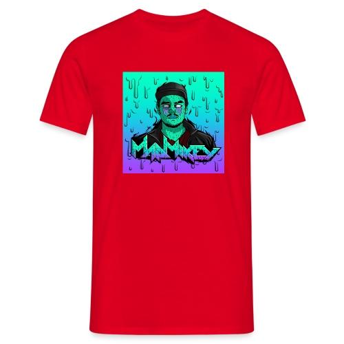 MadMikey Grime Art Sticky Green - Mannen T-shirt