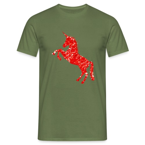 unicorn - Männer T-Shirt