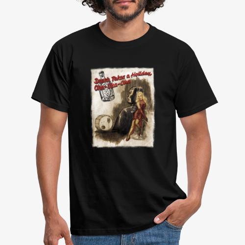 Death Takes a Holiday - T-shirt herr