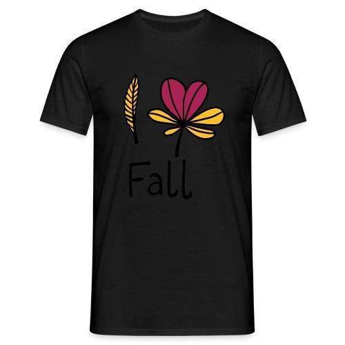 Fall in love - Männer T-Shirt