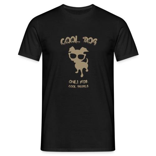 COOL DOG Tortora - Maglietta da uomo