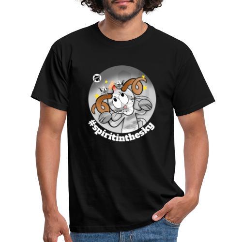 Astrokatze Widder - Männer T-Shirt