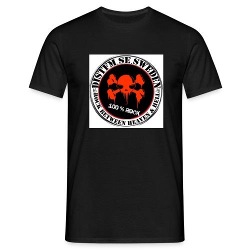 distfmlogo jpg - T-shirt herr