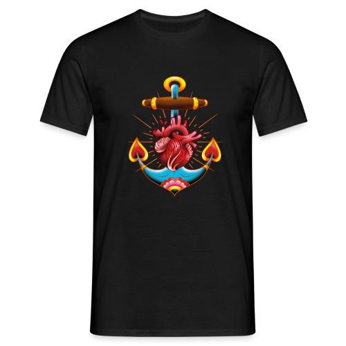 Sailor's Heart - Tattoo design - T-shirt Homme