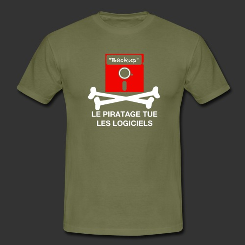piratage - T-shirt Homme
