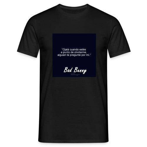 bad bunny - Camiseta hombre
