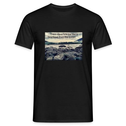 Oceanheart - T-skjorte for menn