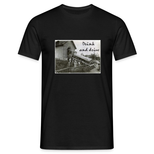drink and drive - T-shirt herr