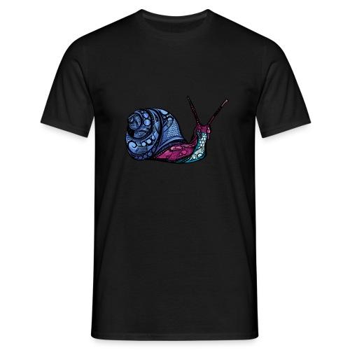 Snegle - T-skjorte for menn