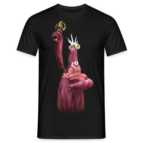 freiheitsvieh und baby - Männer T-Shirt